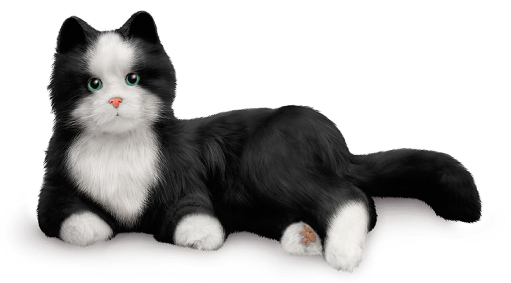 Black and White Companion Cat - Joy for All
