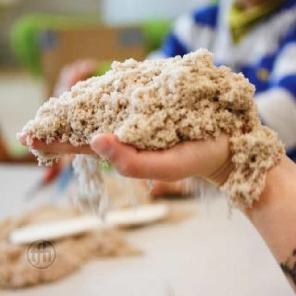 Kinetic Bonding Sand - Plain - 5Kg Bag