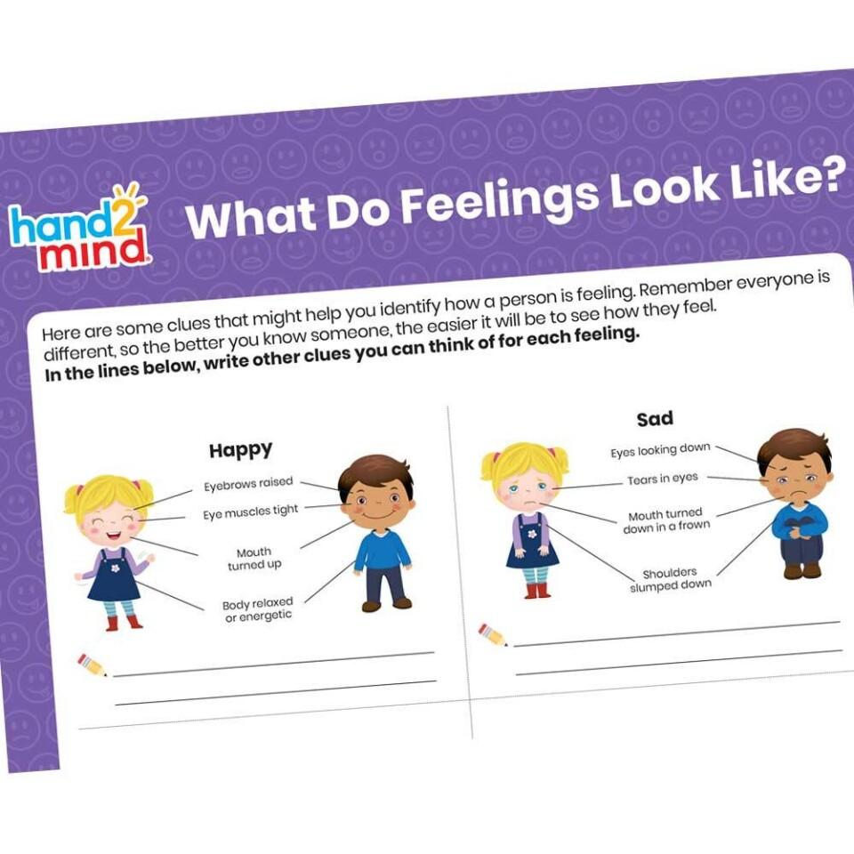 Learn About Feelings Activity Set