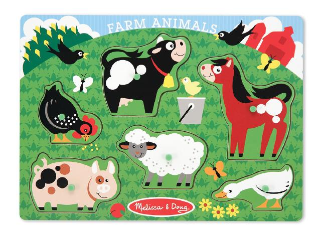 Farm Set Puzzles (Melissa & Doug)