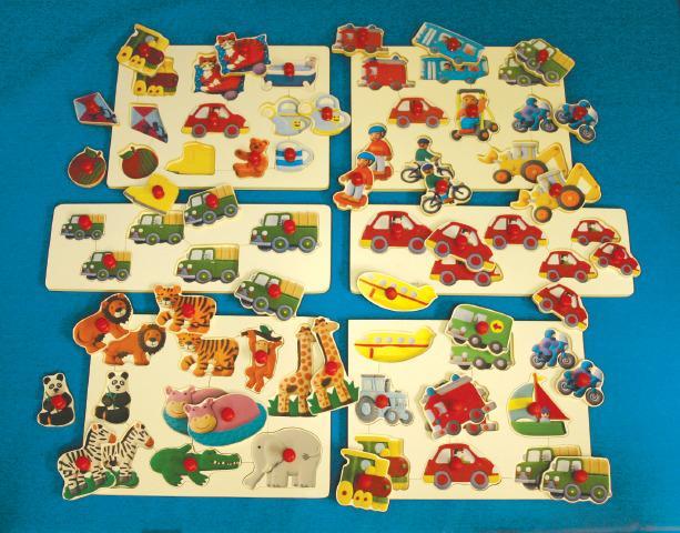 Monster Set Puzzles