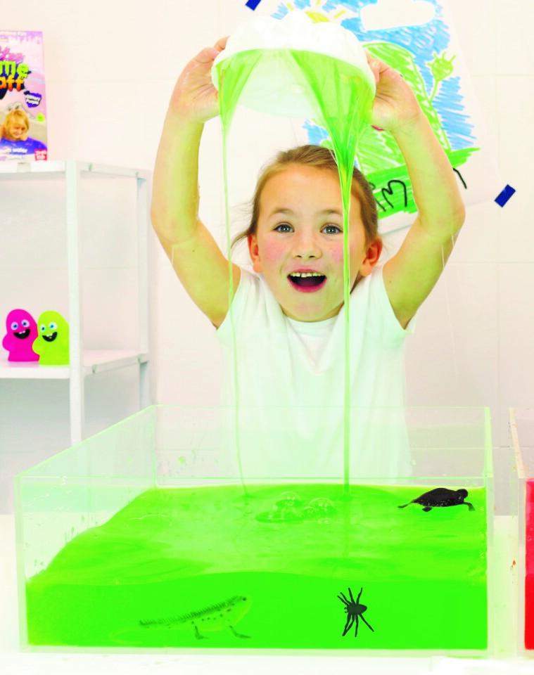 Slime Play Sensory Fun