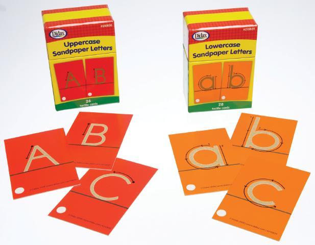 Sandpaper Letters