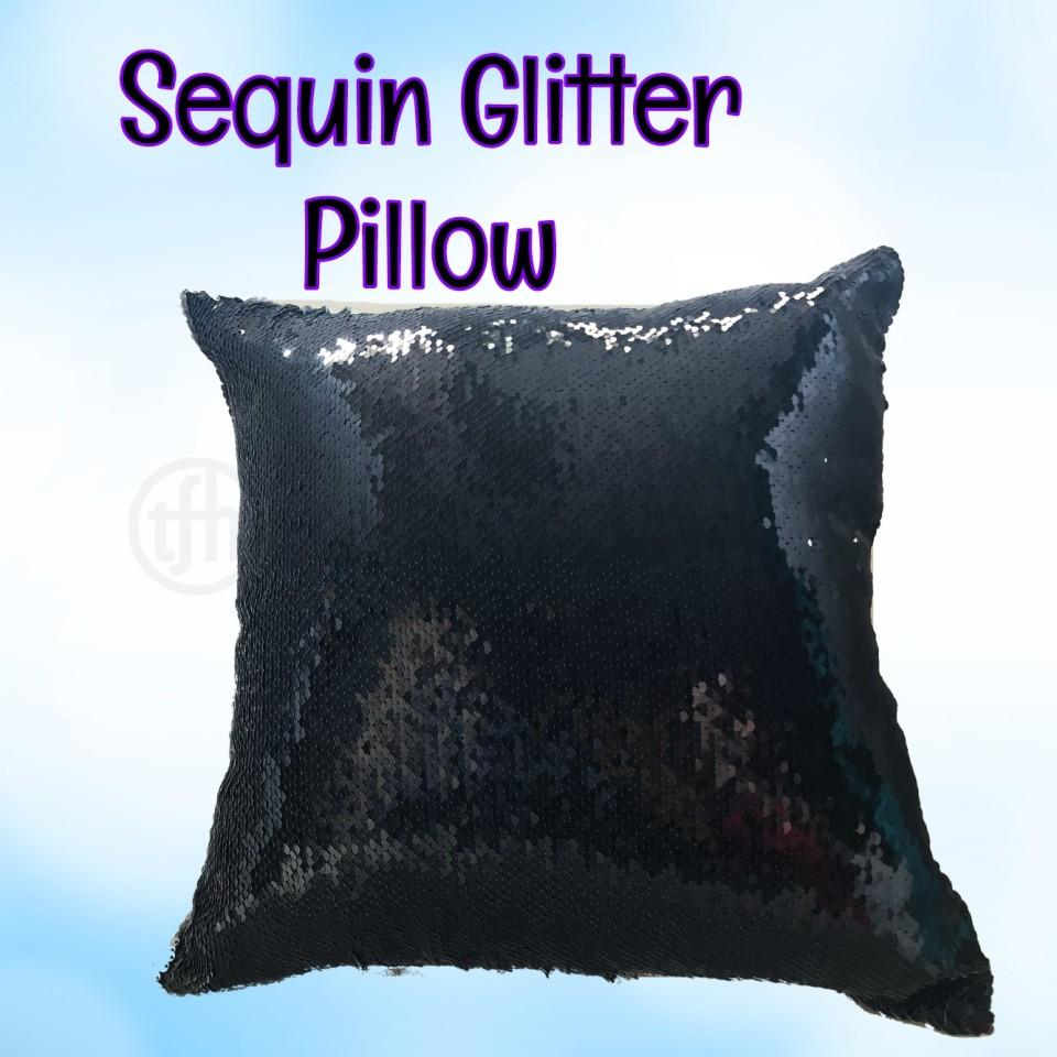 Glitter Sequin Sensory Pillow