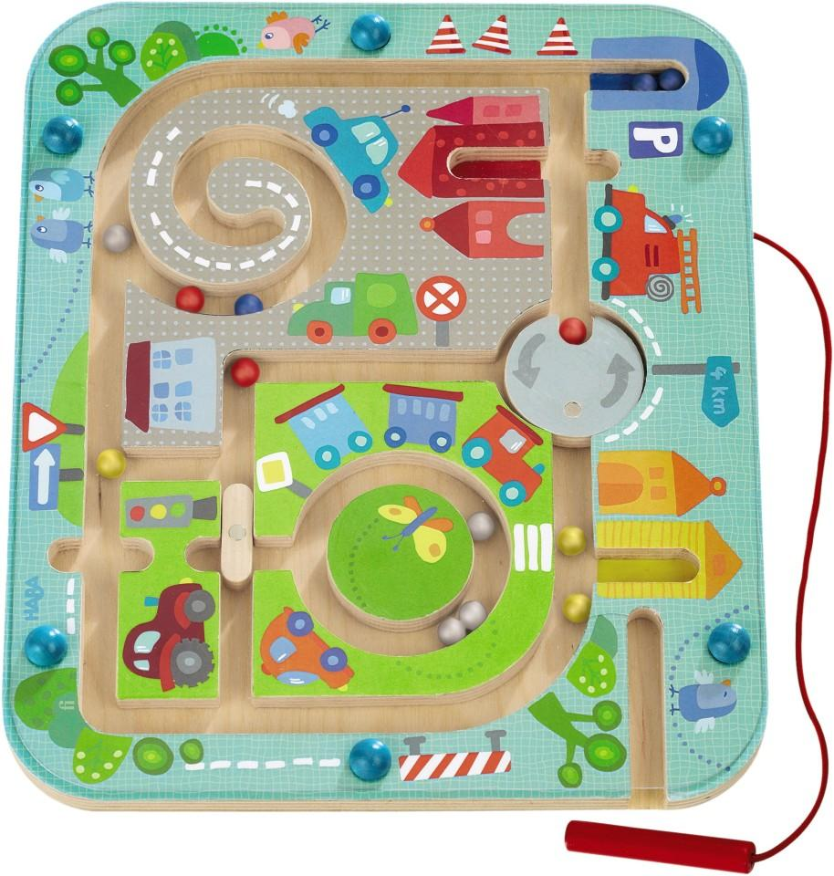 Town Maze Magnetic Game