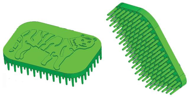Tactile Tiger Sensory Brush