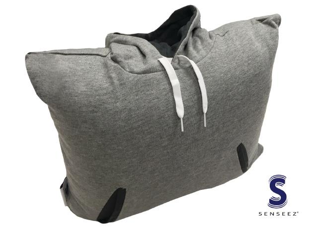 Vibrating Hoodie Pillow - Vibration Special Needs Toy