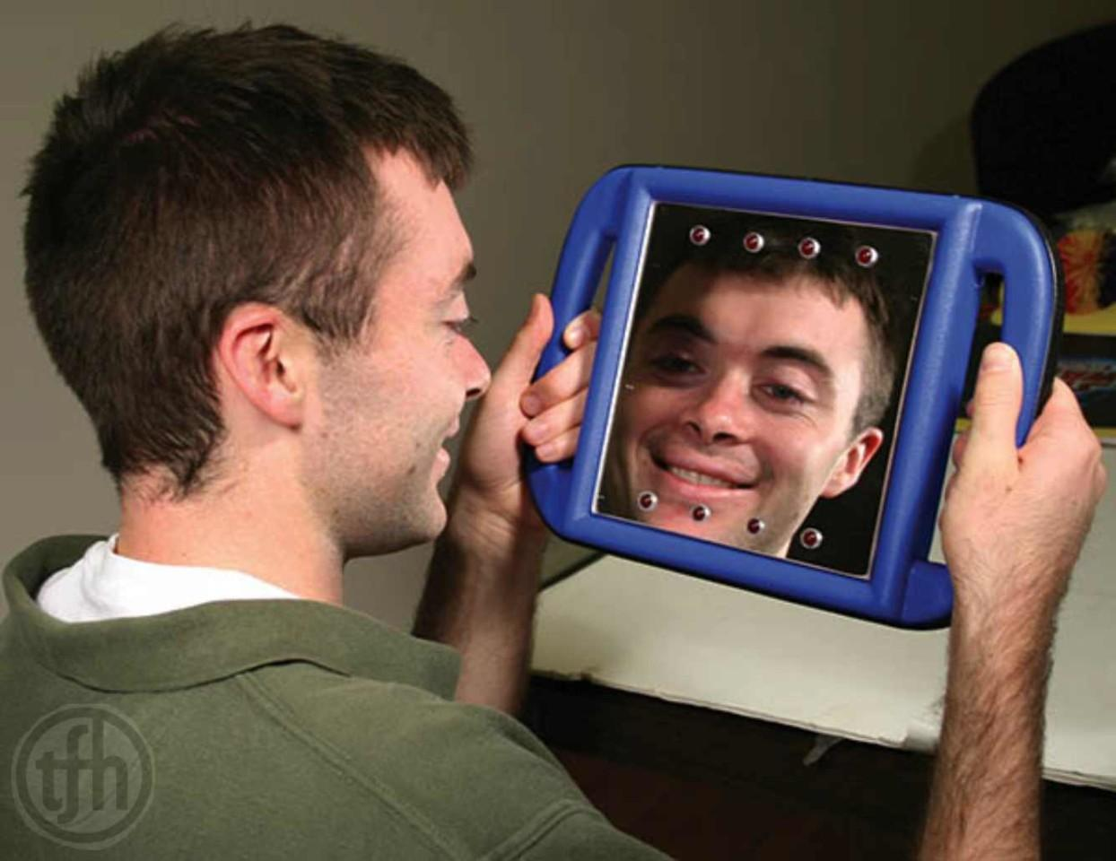 Light Up Vibrating Mirror