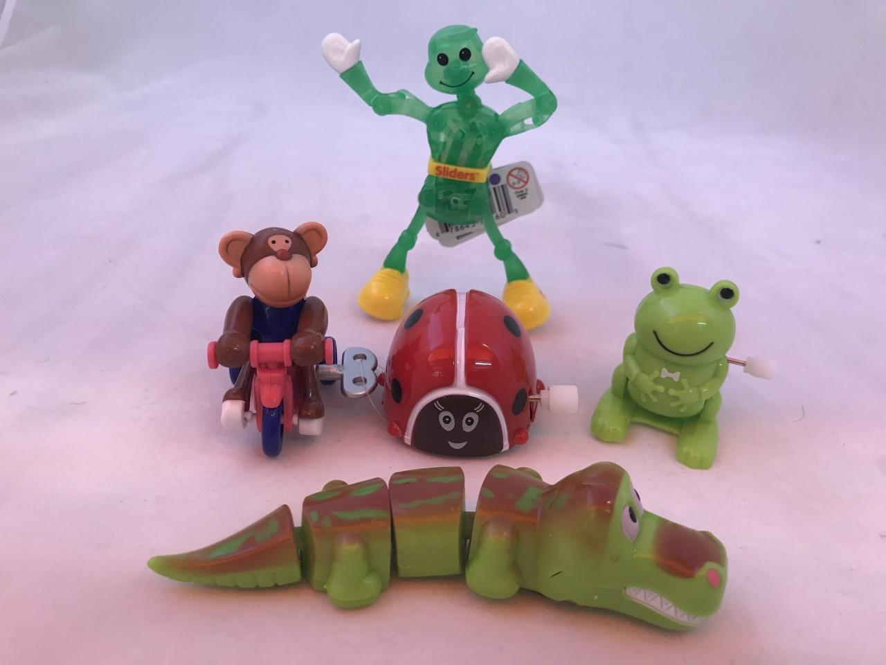 Wind Up Toys - Set Of 5