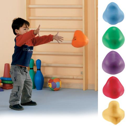 Bouncy Rocks, set of 6