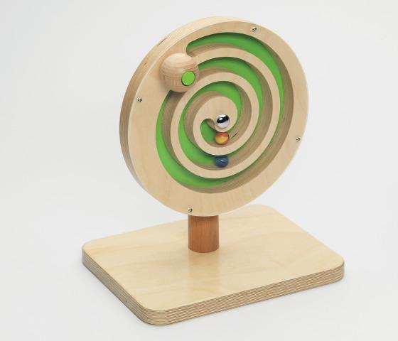 Wooden Bell Spiral Toy