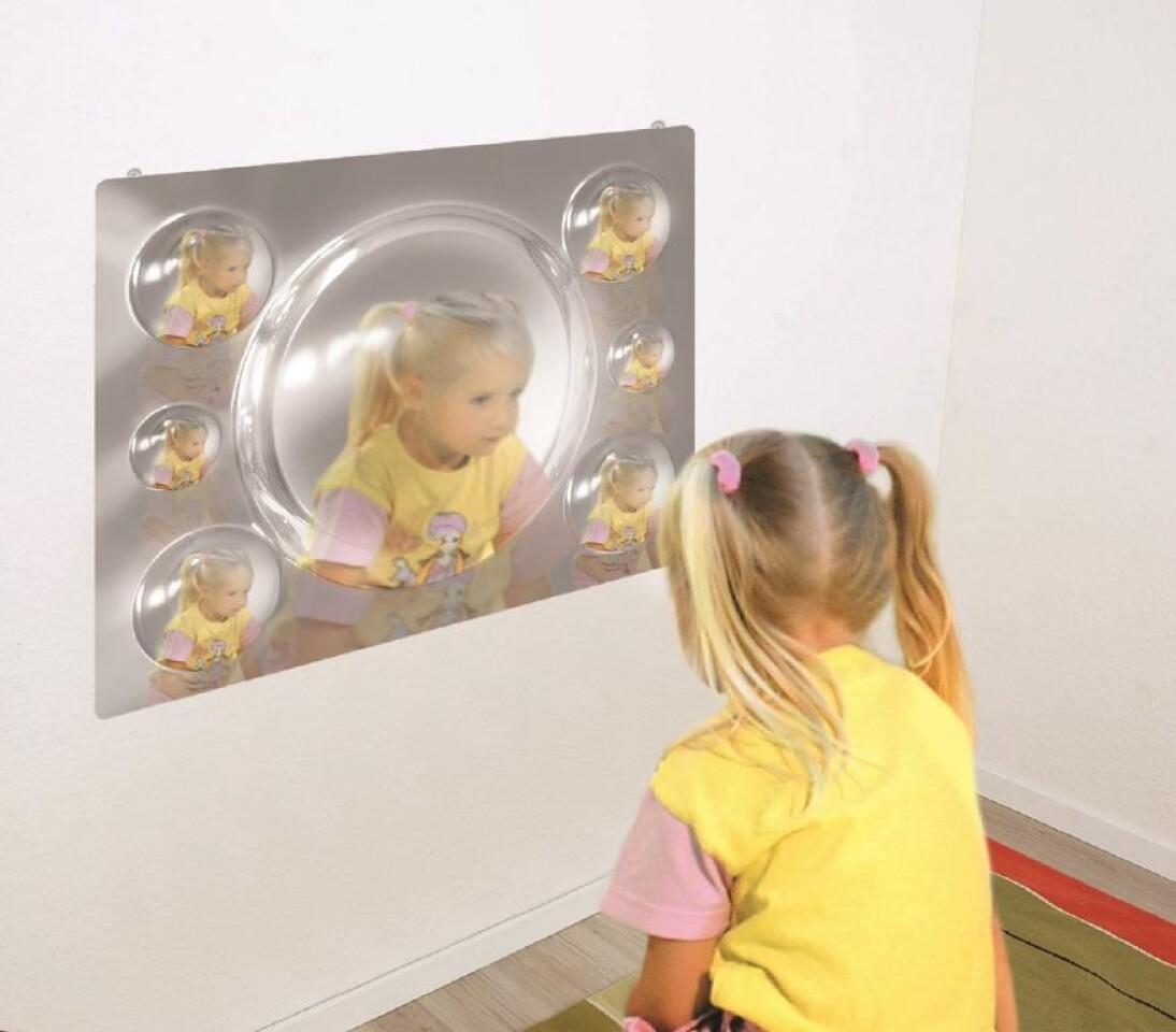 Multi Effect Acrylic Mirrors set of 4