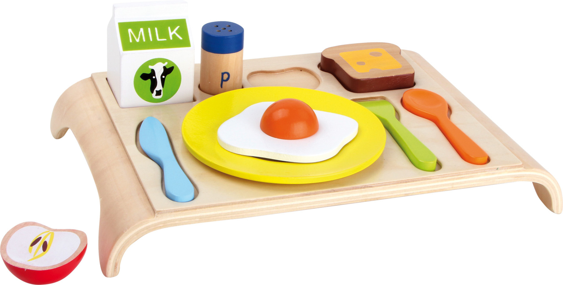 Breakfast Puzzle - Development Sensory Toy
