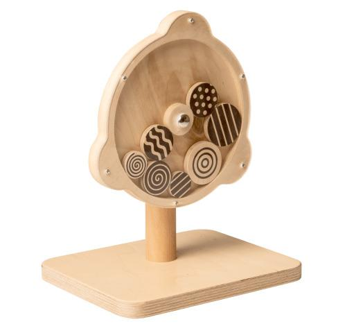 Geometric Spinning Wheel Toy
