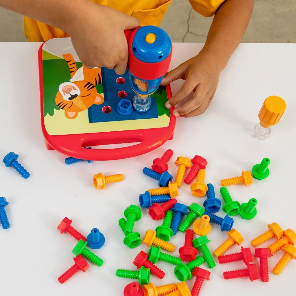 Design & Drill ABCs & 123s - Fun Learning Toy