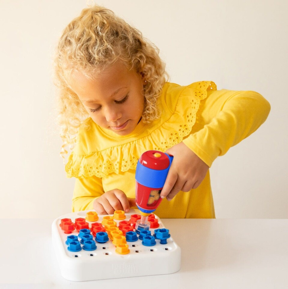 Design & Drill Patterns & Shapes - Fun Learning Toy
