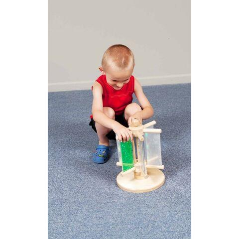 Diffraction Mirror Paddles Sensory Toy