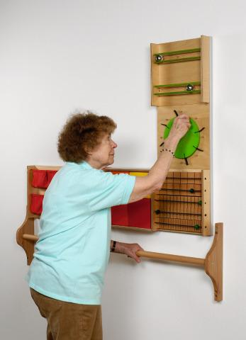 Green Auditory Wall Panel