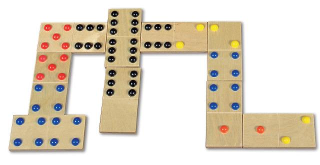 Giant Finger Touch Dominoes