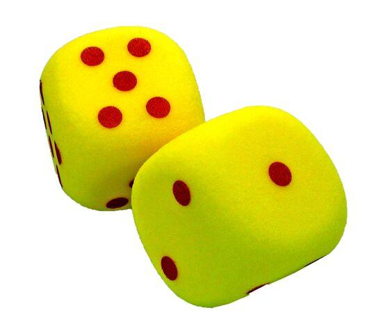 Giant Foam Dice