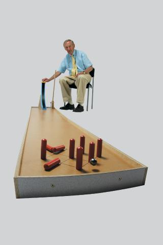 Floor Bowling