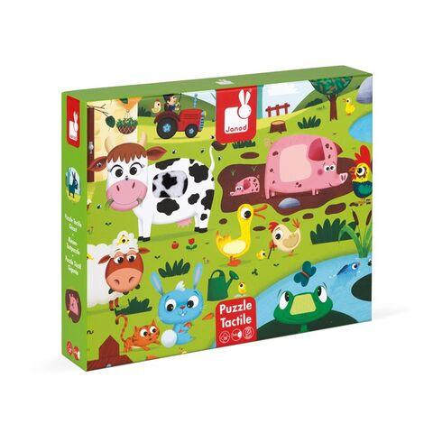 Giant Tactile Animal Puzzle - Farm