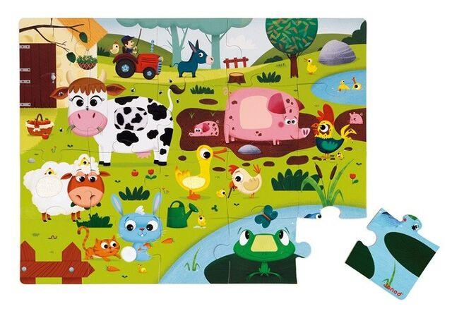Giant Tactile Animal Puzzle Set of 3