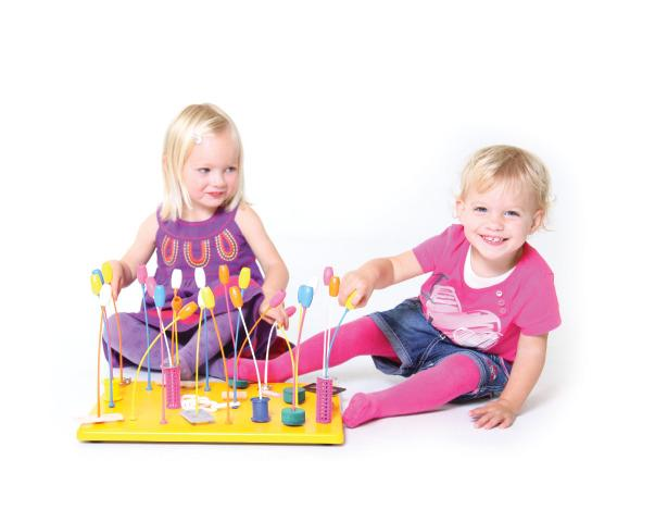 Large Lollipop Jungle - Fine Motor Sensory Toy