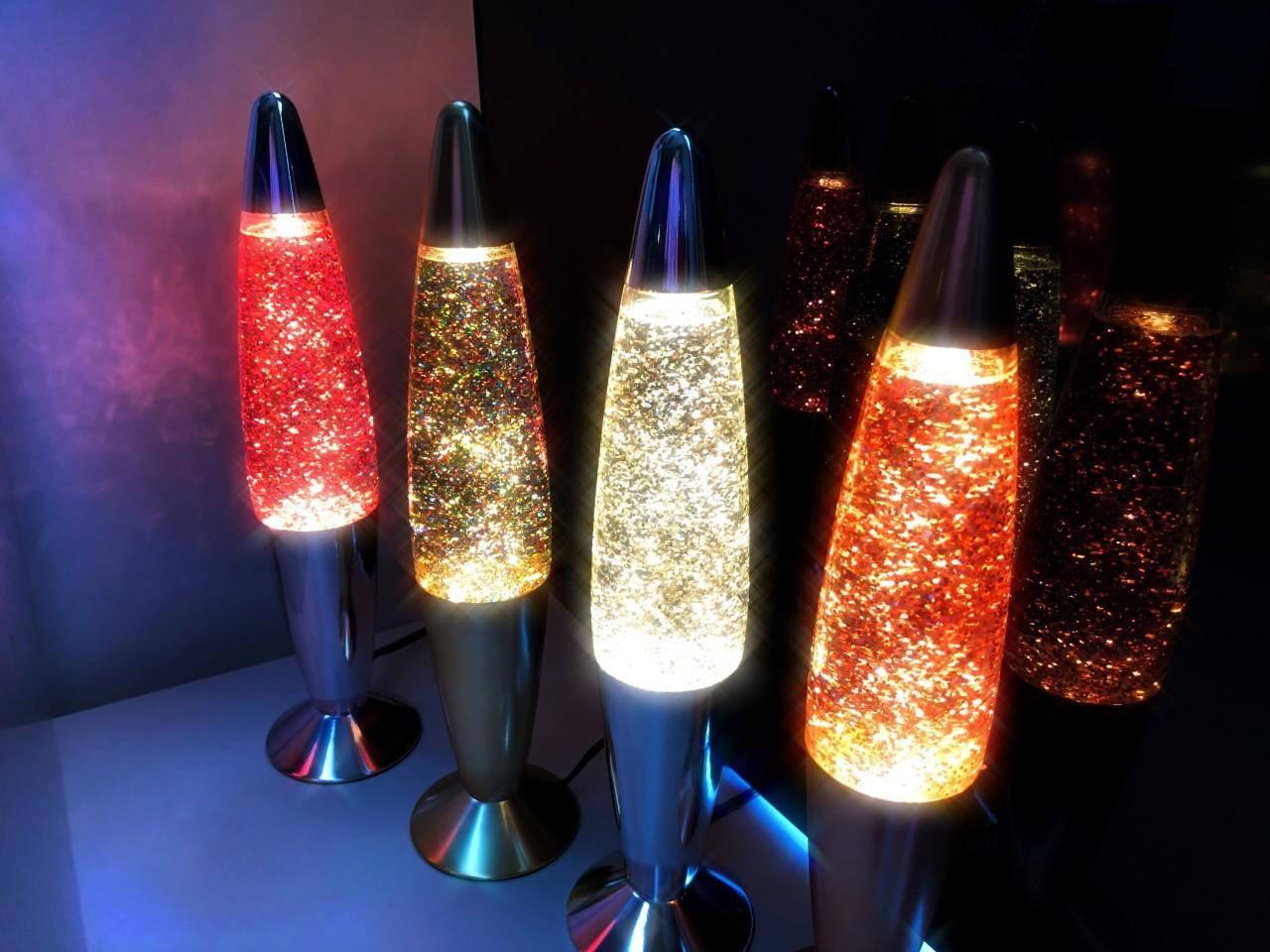 Glitter Lamp