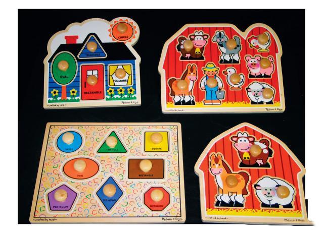 Jumbo Knob Puzzle Kit