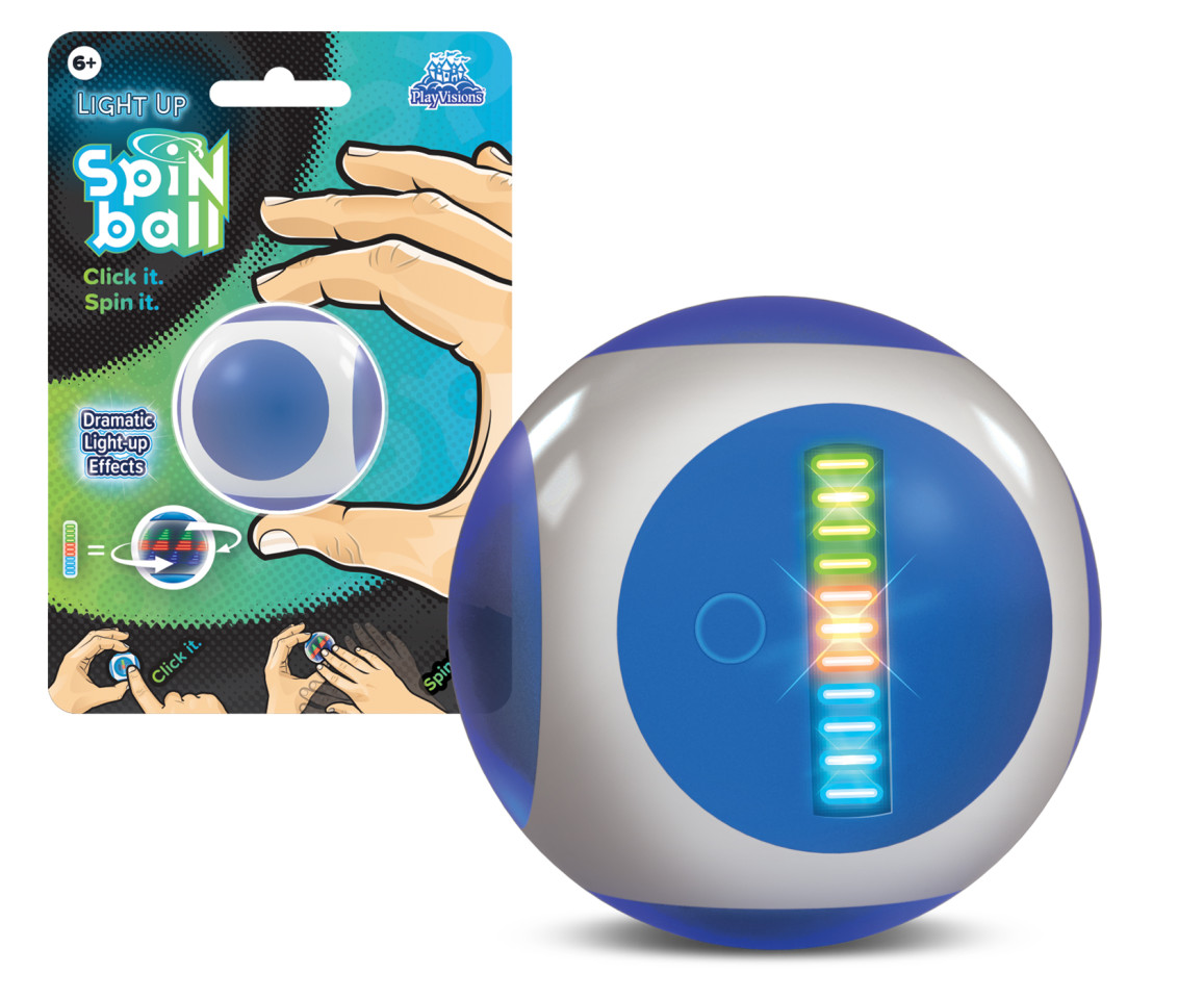 Light Up Spin Ball