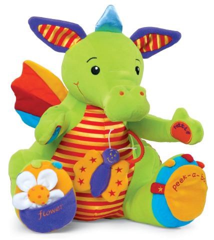 Large Deluxe Sneezy The Dragon - Sensitivity Sensory Toy