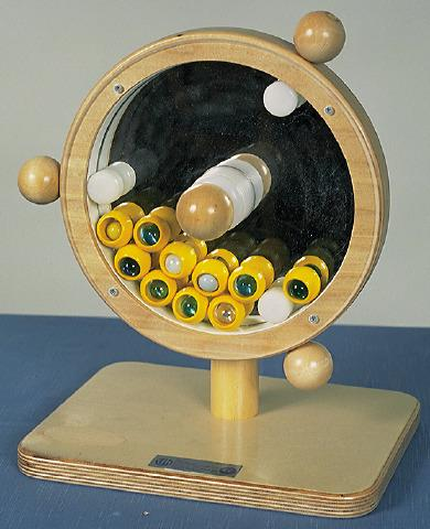 Mirror Marble Wheel - Mirror Sensory Toy