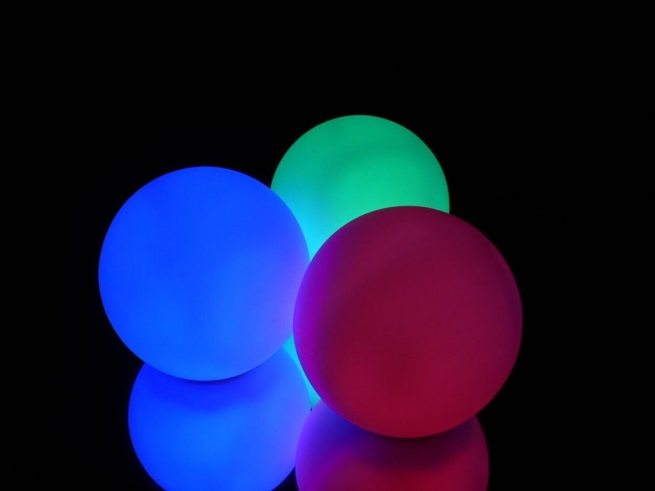 """Rainbow Orb 9.5"""""""