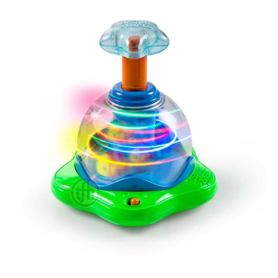 Press and Glow Spinner