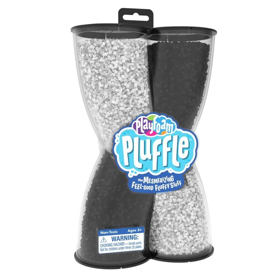 Playfoam Pluffle™ Twist Black & White