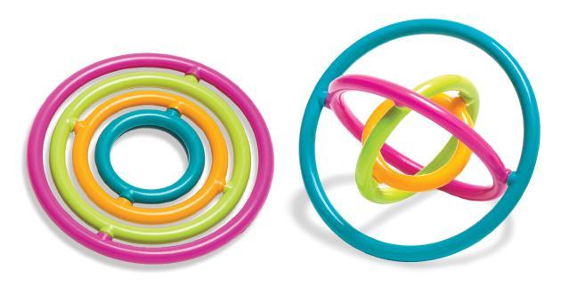 Round Gyrobi - Spinning Fidget Puzzle