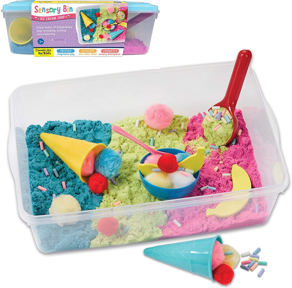 Sensory Bin - Ice Cream Shop