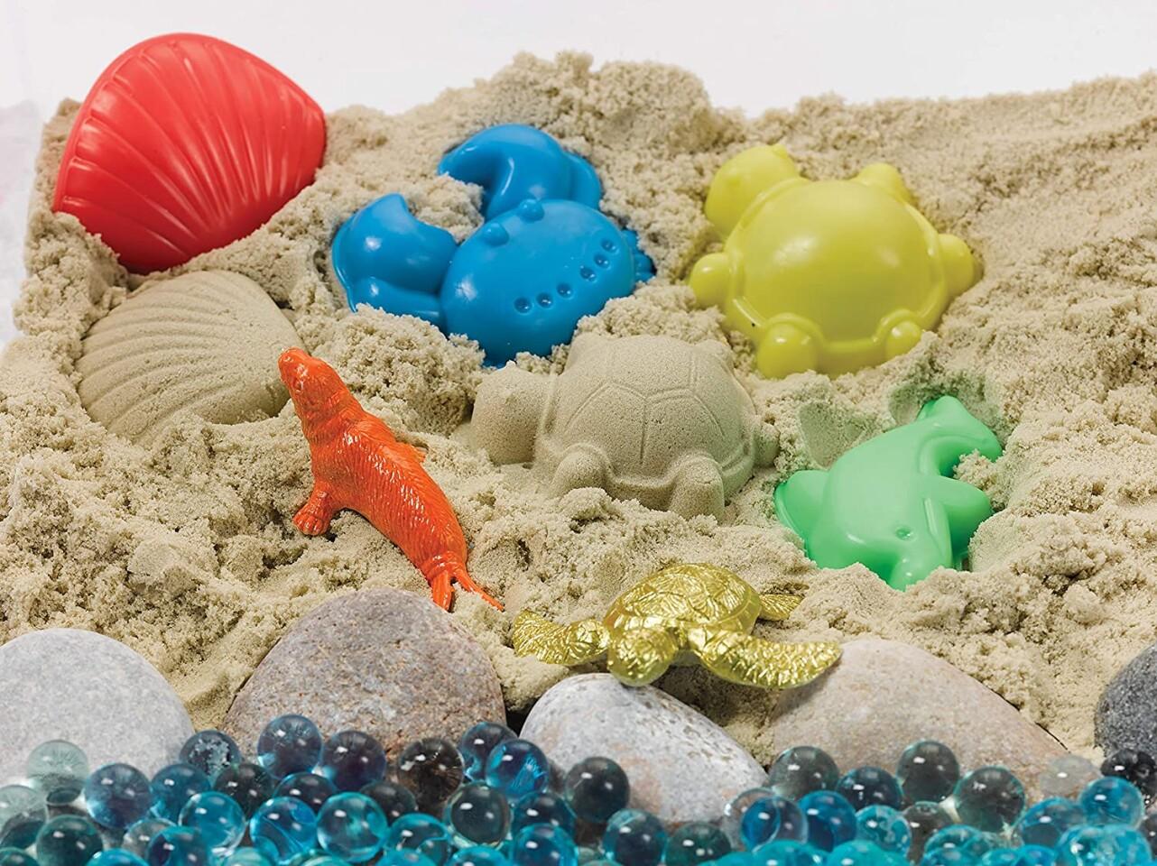 Sensory Bin - Ocean & Sand