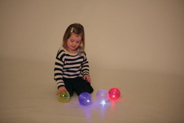 Sensory Flash Balls - Attractive Sensory Toy