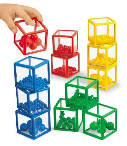 See Inside Sensory Blocks - Problem Solving Sensory Toy