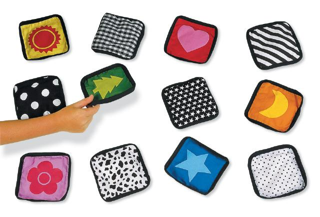 Soft Touch Memory Game - Game Sensory Toy