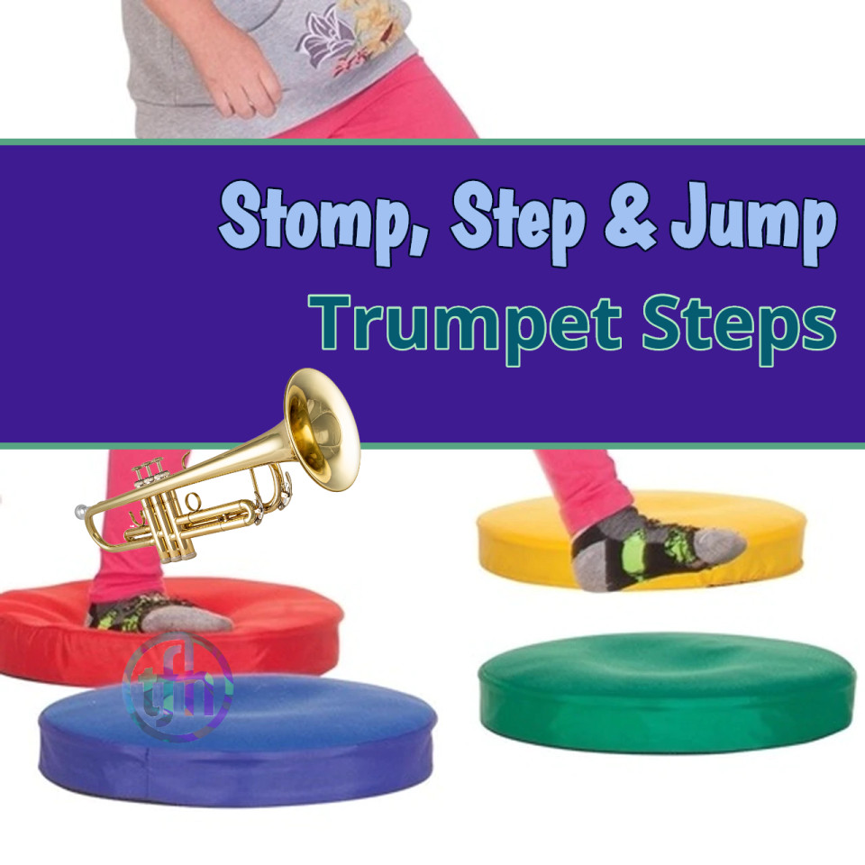 Trumpet Steps - Fun Motor Skills Game
