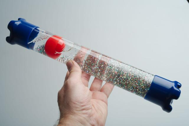 Sensory Glitter Tube - Fascination