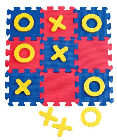 Wonderfoam Tic Tac Toe - Inclusive Sensory Toy