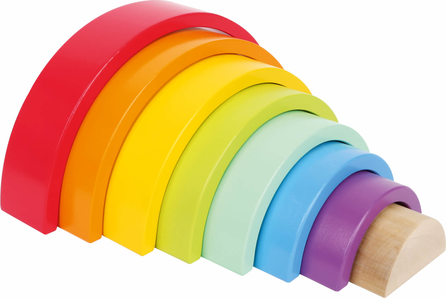 Rainbow Stack and Play - Sorting and Stacking Toy
