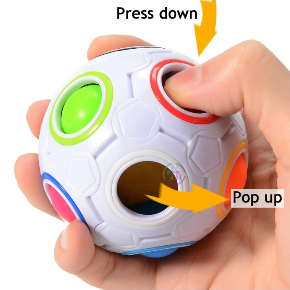 Popping Fidget Ball