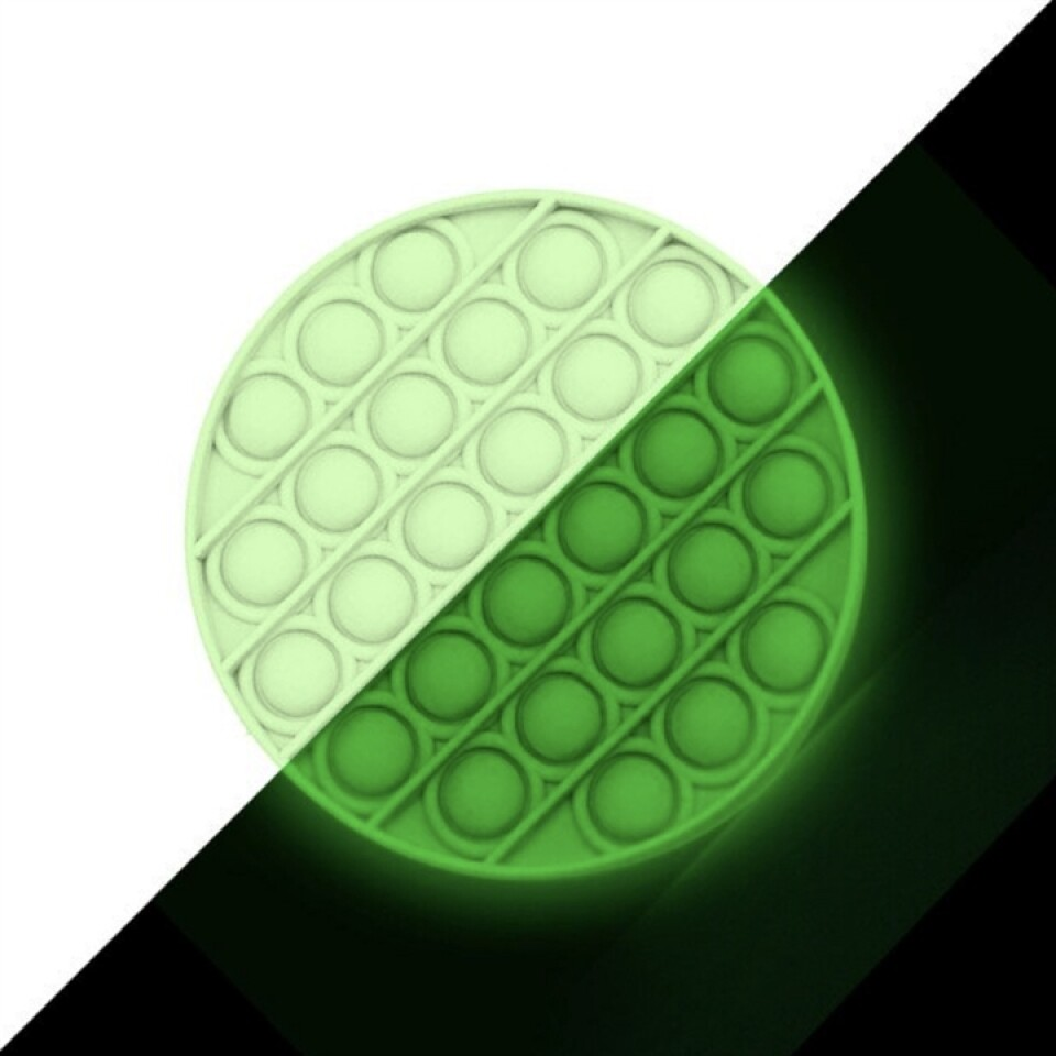 Glow in the Dark Pop Fidget