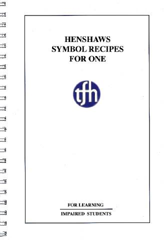 Henshaw's Symbol Recipe Book For One