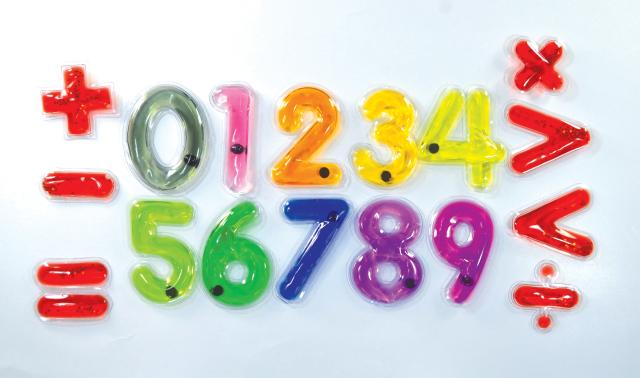 Light Learning Numbers and Math Signs